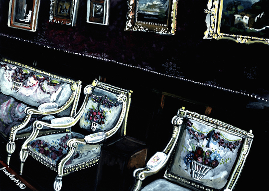 Chairs In Picture Gallery