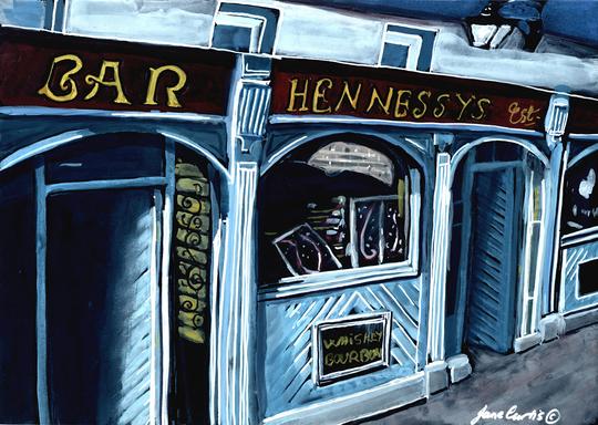 Hennessy's Bar Blessington Ireland L