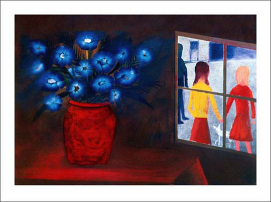 Blue Bouquet and Window 1973