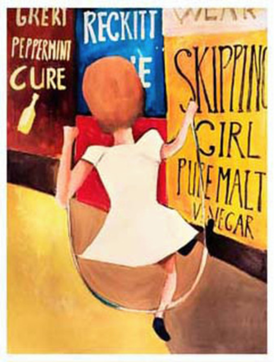 Charles Blackman - 'Skipping Girl 1954'