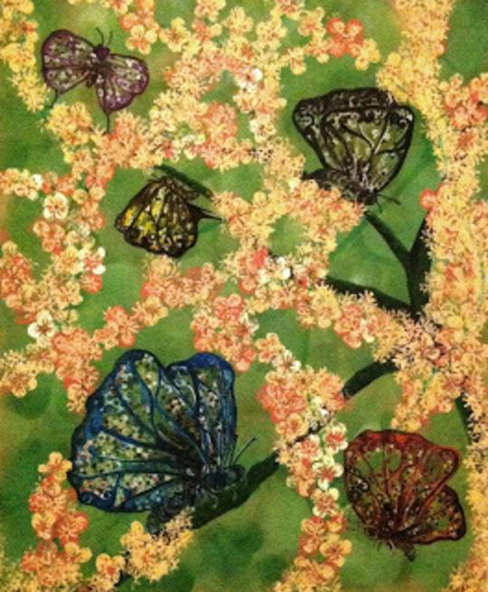 Where Butterflies Blossomed