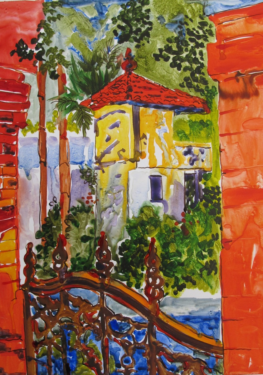 Helen Dubrovich - Garden Gate