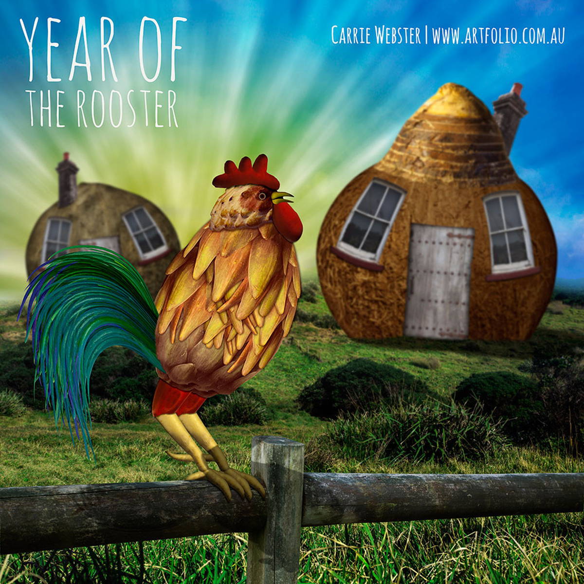 Carrie Webster - The Year of the Rooster