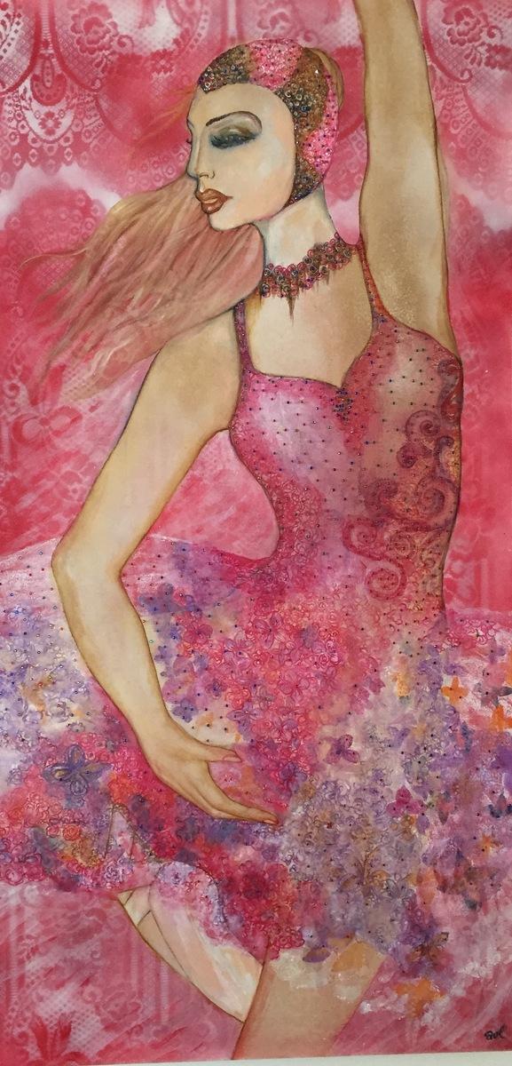 Anthony Van Lam - Ballerina # 1