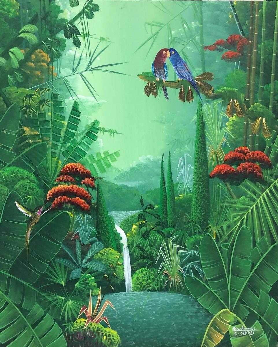 Albott Bonhomme - Tropical jungle / bonhommej193