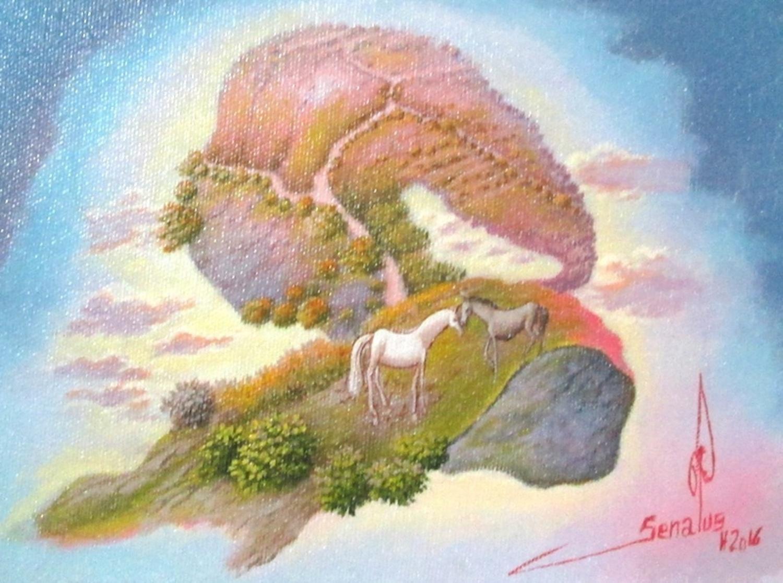 Jean Louis Senatus - IMAGINARY LANDSCAPE / Senatusj33