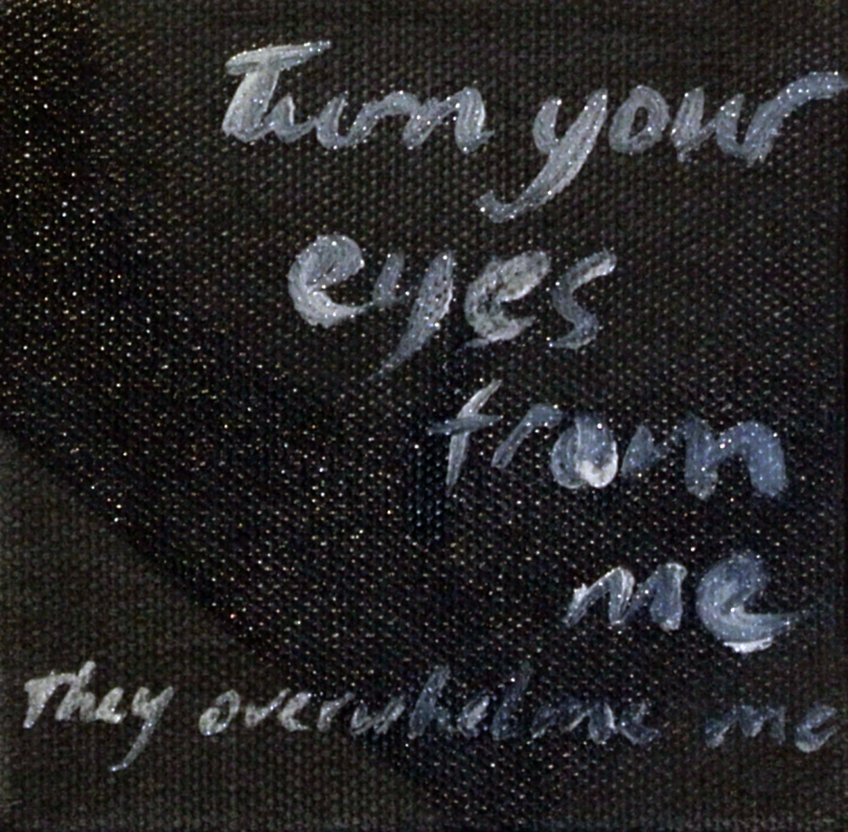 David James - Turn your eyes from me