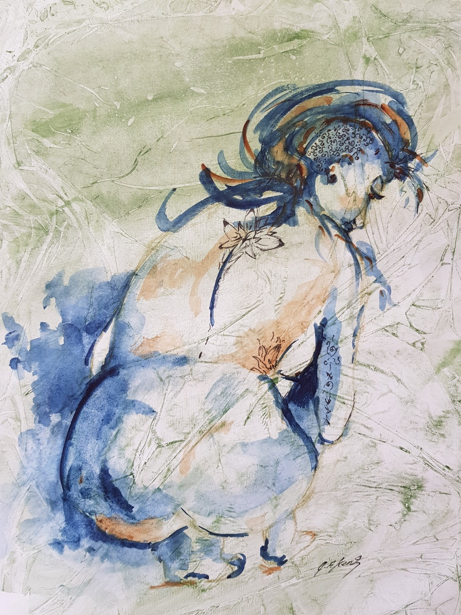 Catherine Kent - Figure Green