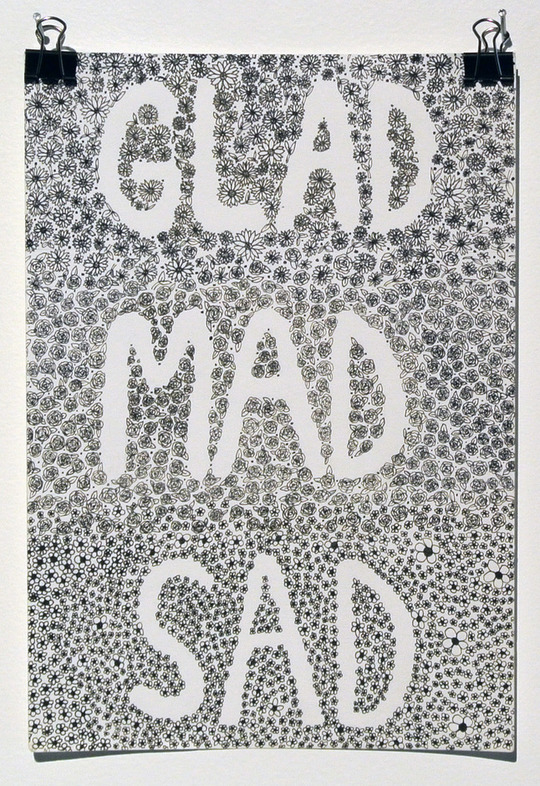 Glad Mad Sad
