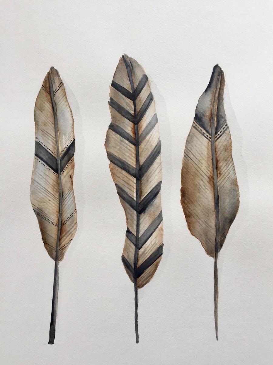 Krystee Craig - Weapon of Warfare - Feathers 001