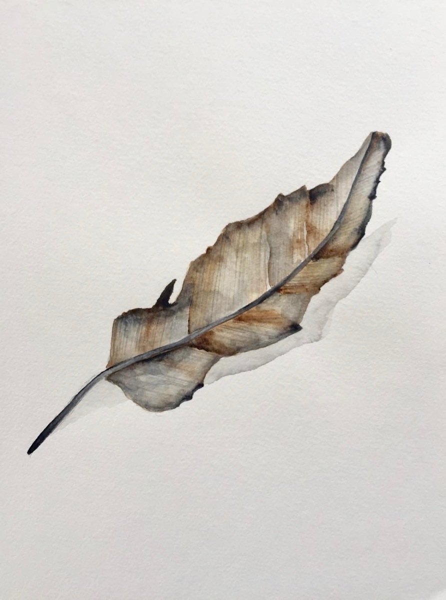 Krystee Craig - Weapon of Warfare - Botanical Leaf 001
