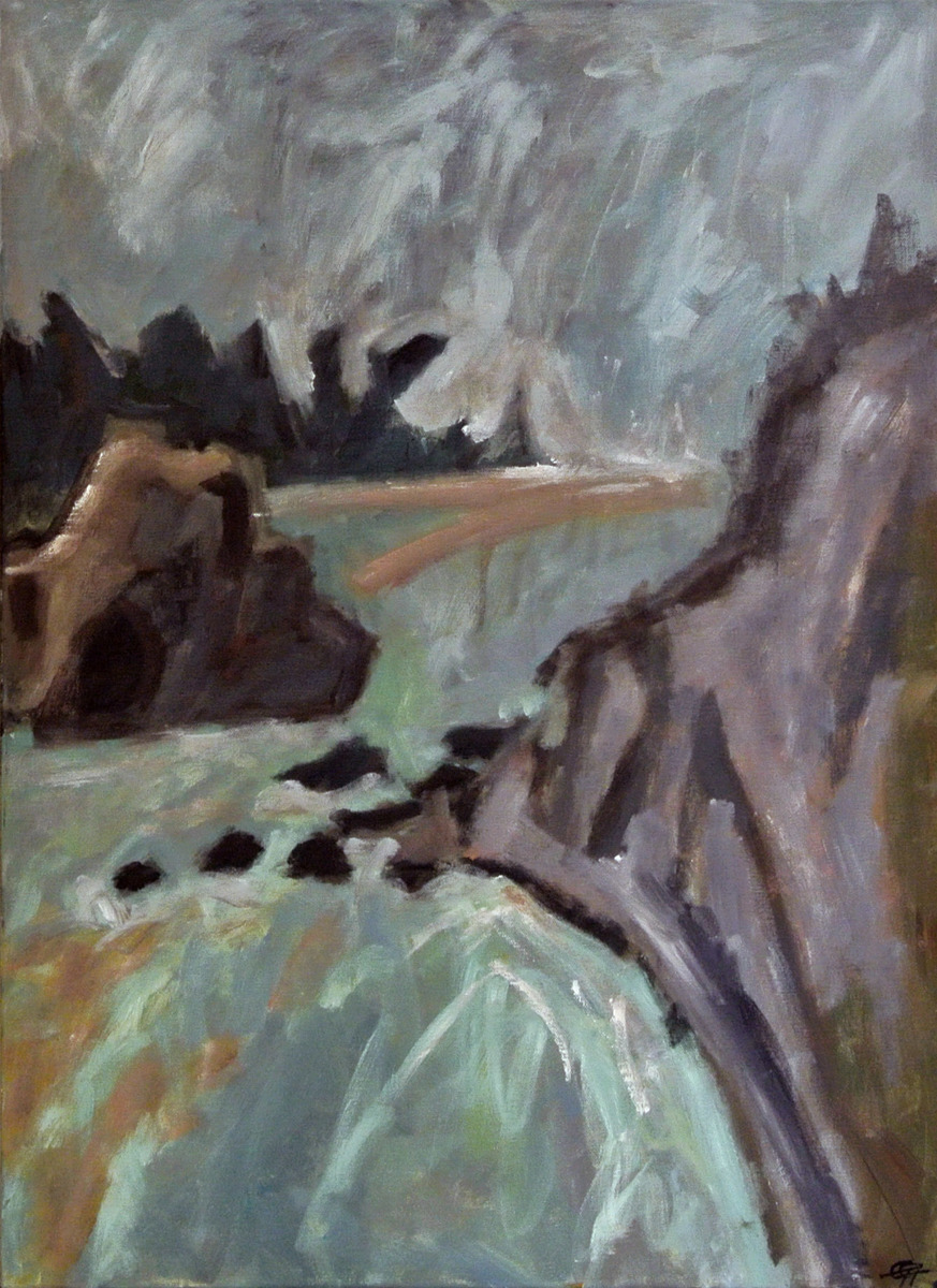 Greta Greenwood - Storm on Rock's Road, Nelson