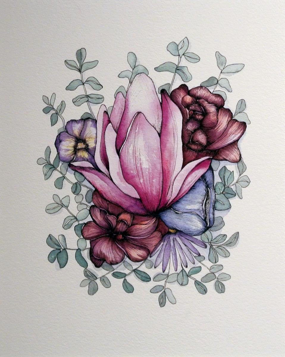Krystee Craig - Botanical Cluster 04