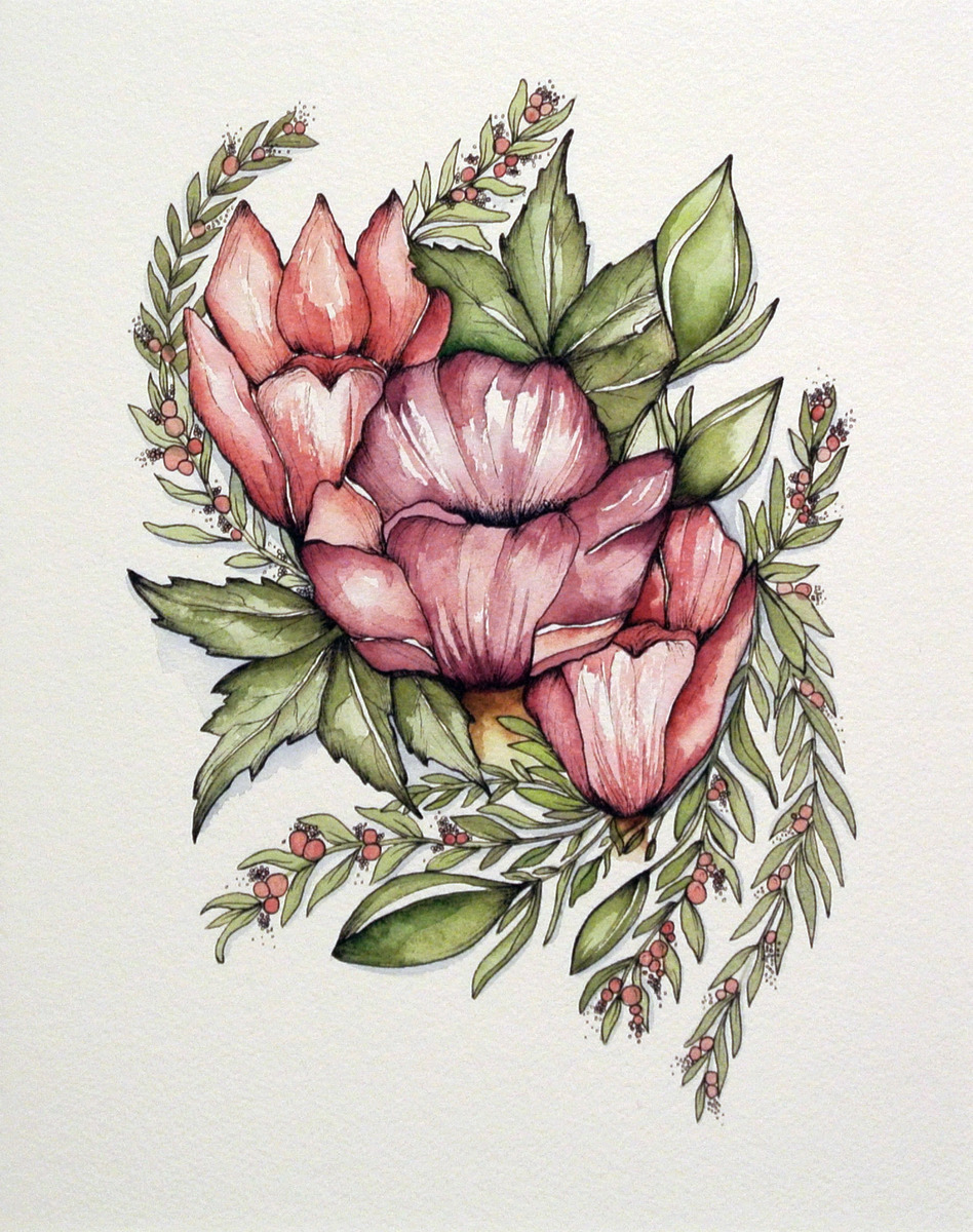 Krystee Craig - Botanical Cluster 03