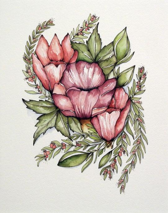 Botanical Cluster 03