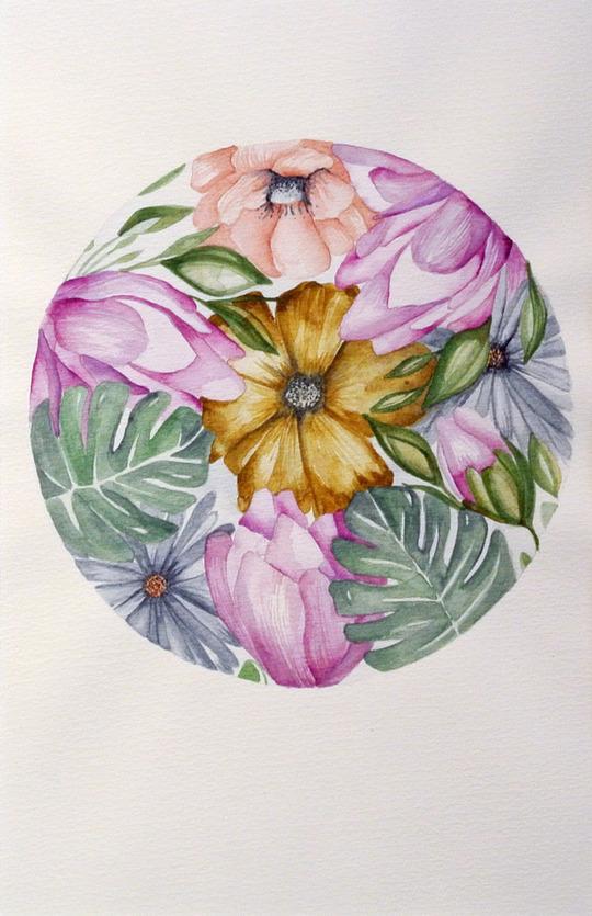 Botanical Cluster Round 01