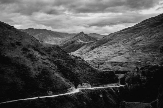 'The White Road', Skippers Canyon, Queenstown NZ
