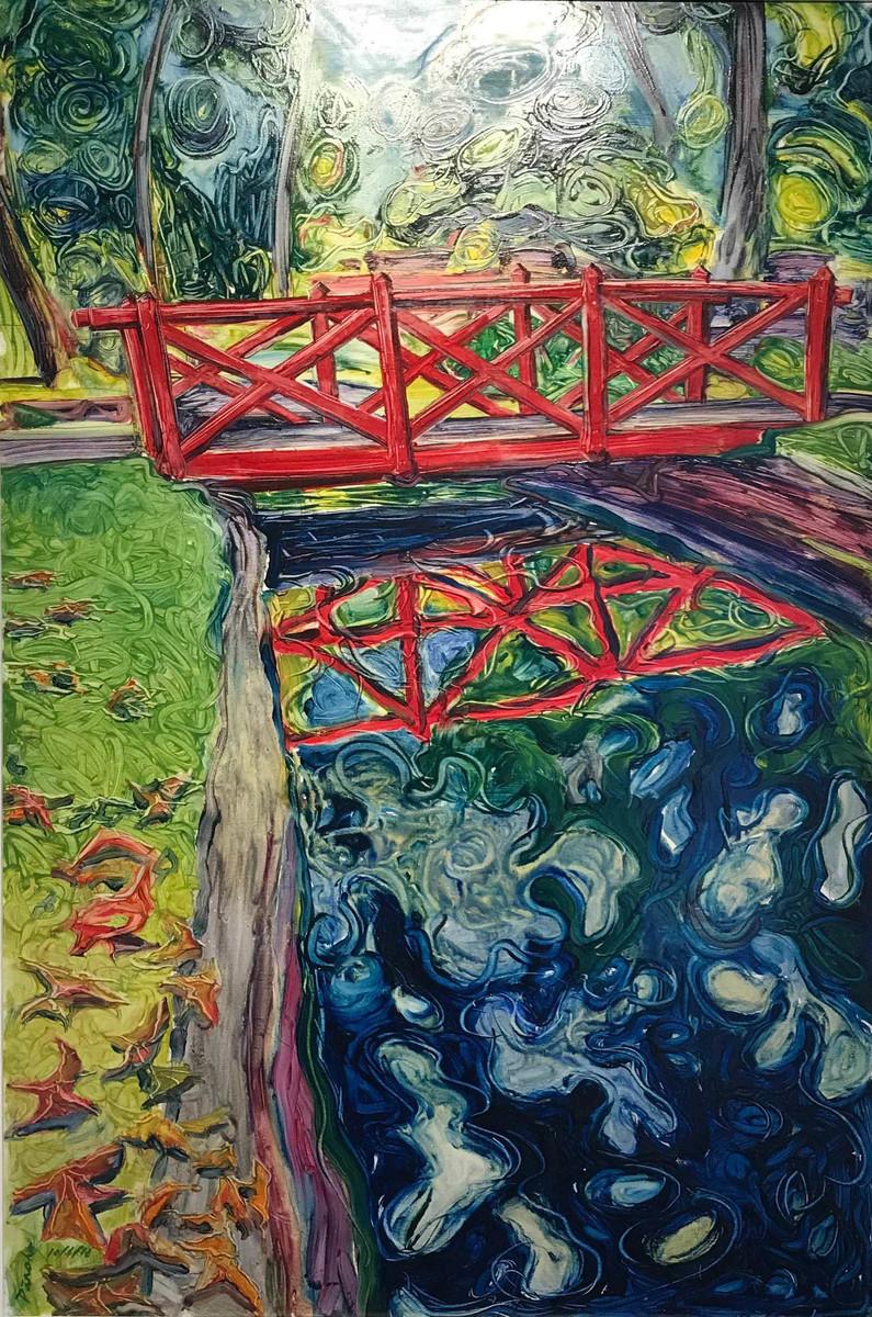 Andrew Panoho - The Red Bridge - Pollard Park