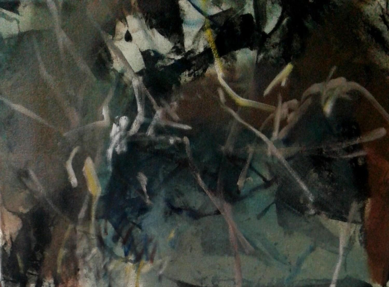 Amanda Watson - Under the Trees in Whaingaroa Raglan June 2019 and in the Studio July 2019