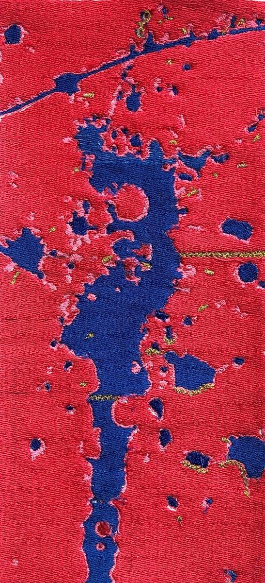 Arabella Caccia - Splash On Red