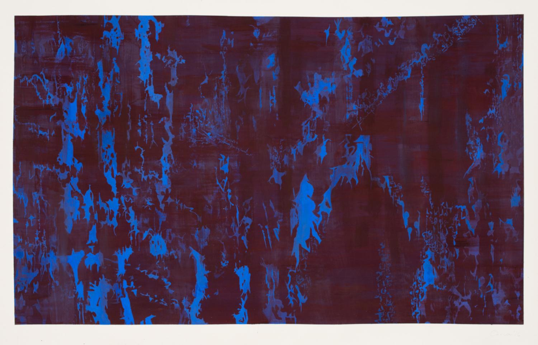 Arabella Caccia - Glyph Composition in Purple